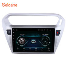 Seicane Android 8,1 9 pulgadas coche DVD reproductor Multimedia para Citroen Elysee Peguot 301 013 2014 2015 GPS Wifi TPMS DVR USB(China)