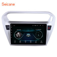 Seicane Android 8.1 9 inch Car DVD Multimedia Player For Citroen Elysee Peguot 301 013 2014 2015 GPS Wifi Support TPMS DVR USB