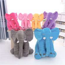 28/33cm Large Plush Elephant Doll Toy Infant Soft Stuffed Elephant Appease Doll Toy Baby Appease Toys Elephant Pillow Plush Toys(China)
