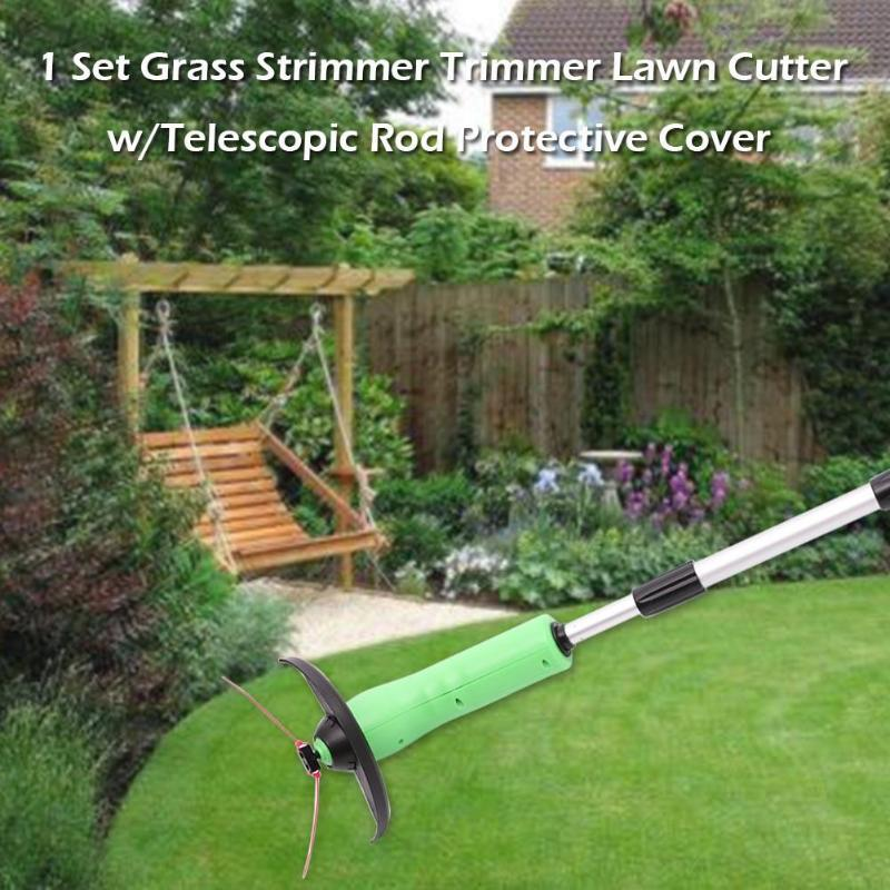 Tools Portable Electric Grass Trimmer Handheld Grass Cutter Cleaner Machine Line Trimmer Garden Tools Telescopic Grass Trimmer High Quality And Inexpensive