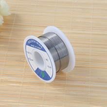 1 рулон 0,8 мм бессвинцовый Олово Серебряный Пайка сварочный поток 1,8 3% галстук свинцовый припой серебряный Проволочный припой чистый Олово DIY Материал провода