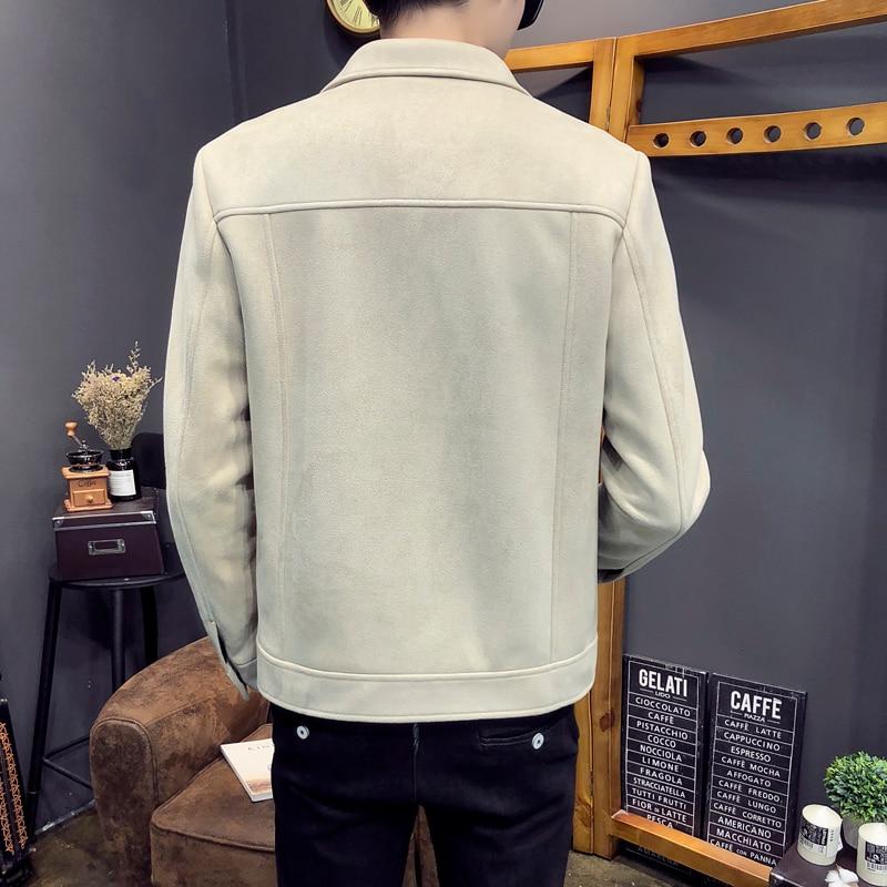 Homme Outwear Slim Hiver Rétro Chaud Hommes Streetwear Manteau black Casual Aviator Beige Épais Veste Bomber Automne Fit Mode Nouvelle Vêtements 7fqBqp