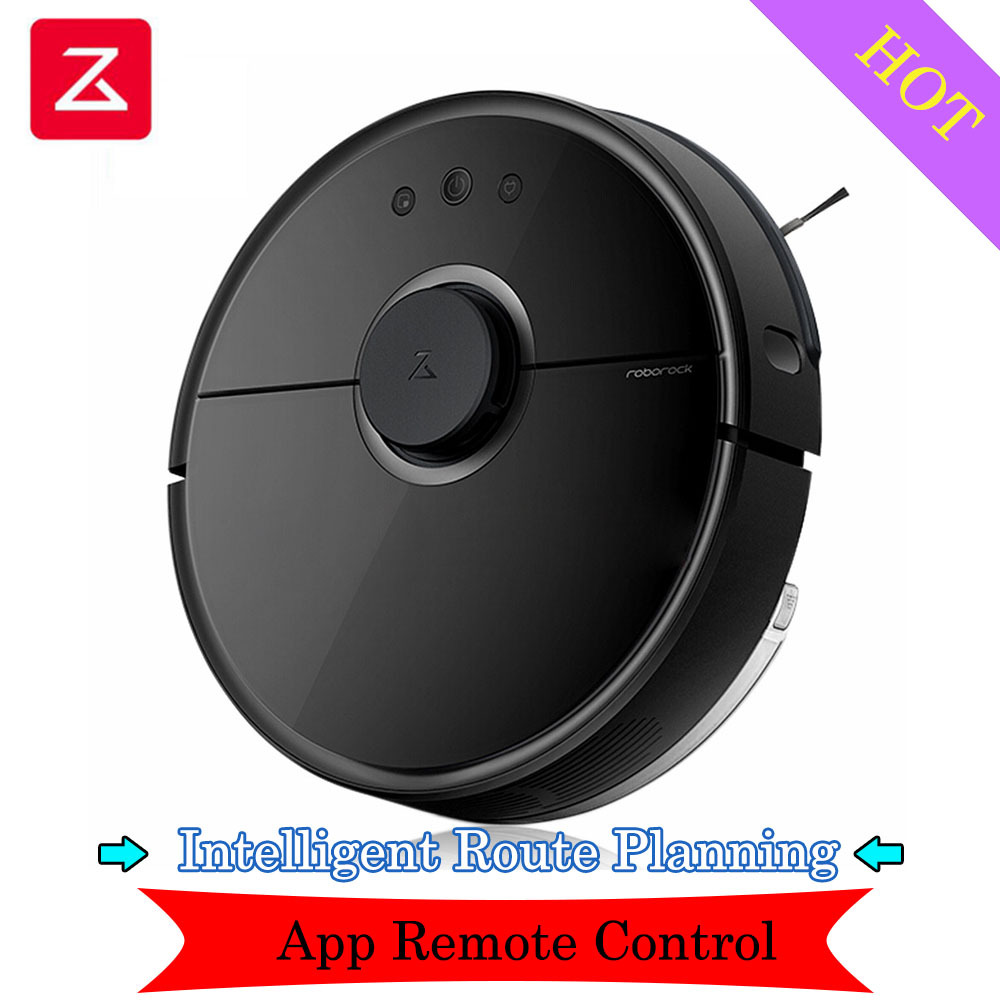 2019 Roborock S55 Smart Robot Vacuum Cleaner Intelligent Sensor System Path Planned Sweeping App Remote Control Mopping Machine Vacuum Cleaners     - title=