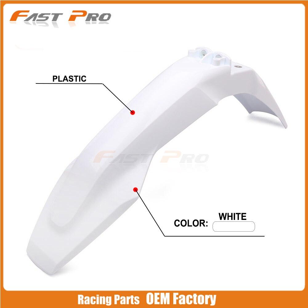 Motorcycle Plastic Front Fenders Fairing Mudguard For Husqvarna TX300 FS450 TE250I FC TC FX FE TE 150 250 300 350 450 501 Enduro
