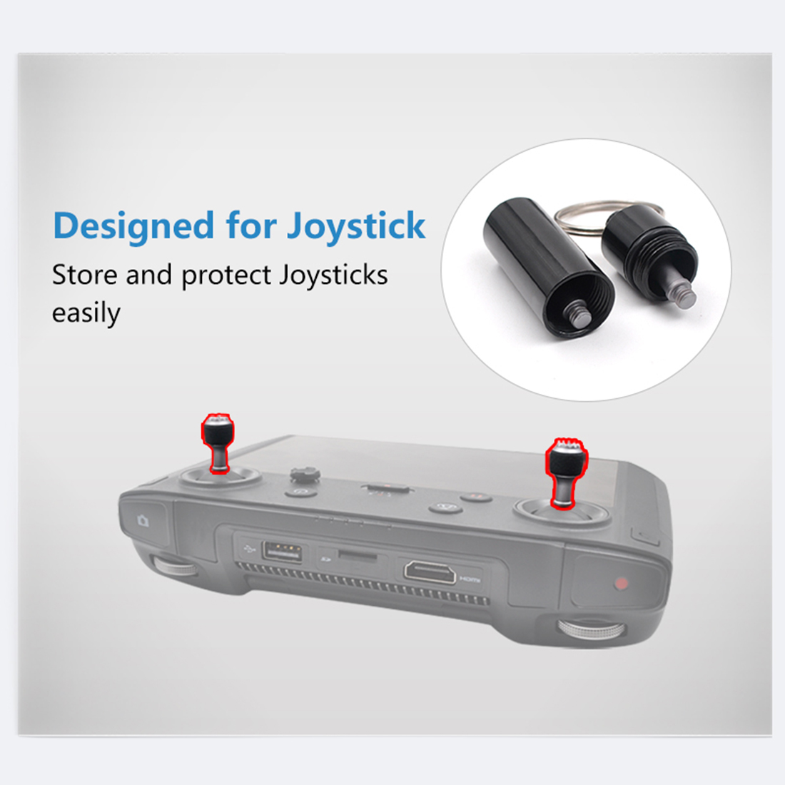 Controller Anti-lost Storage Case Bottle Organizer For DJI Smart Controller For MAVIC 2 PRO/MAVIC 2 ZOOM Outdoor