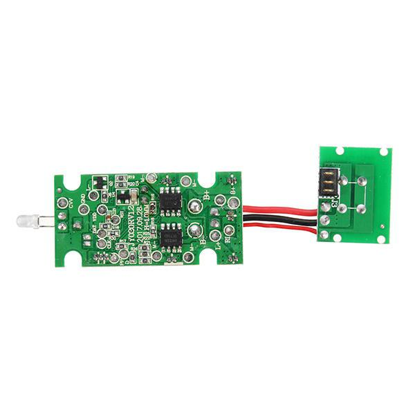 LeadingStar E58 RC Quadcopter Spare Parts Receiver Board with High Hold Mode Switch Board Suitable for Eachine E58 Karachi