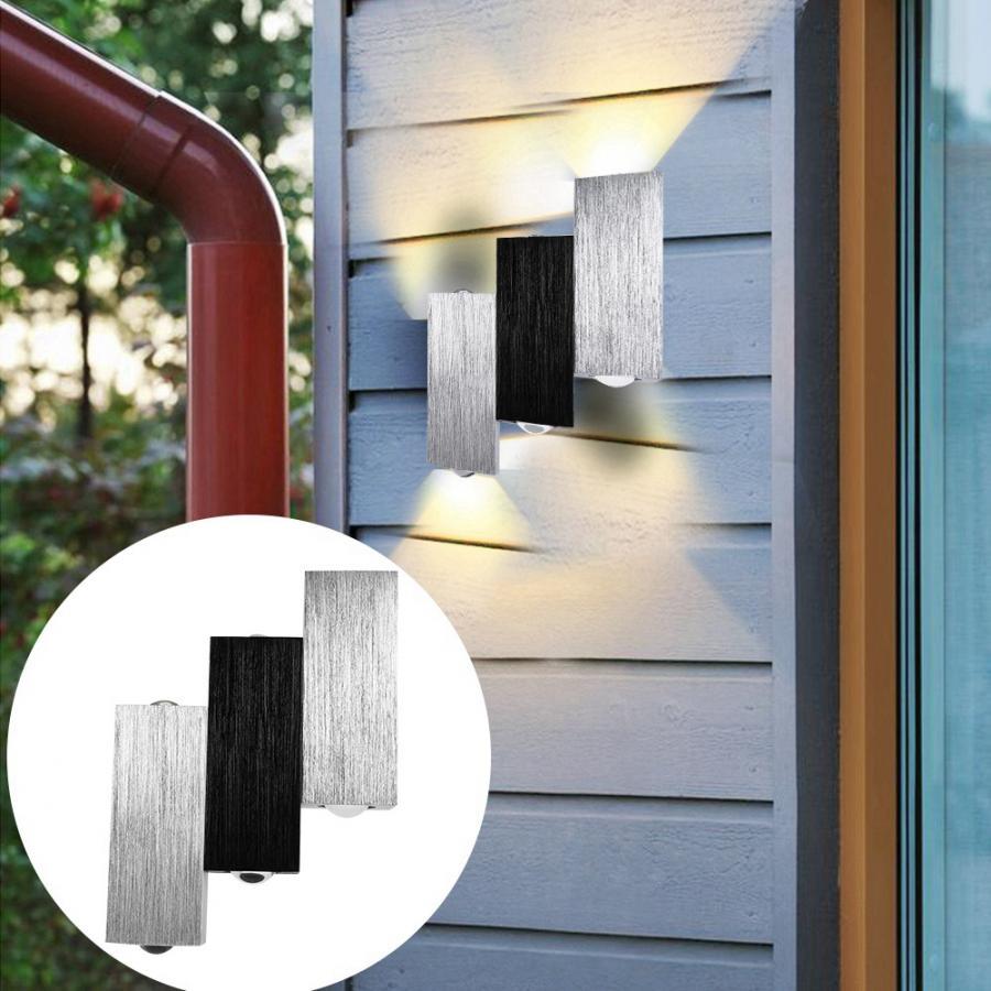 Bathroom Light 85-265V 6W 6LED Sconce Lamp Warm White Mirror Light For Home Bedroom Bar Cafe Aplique Luz Pared