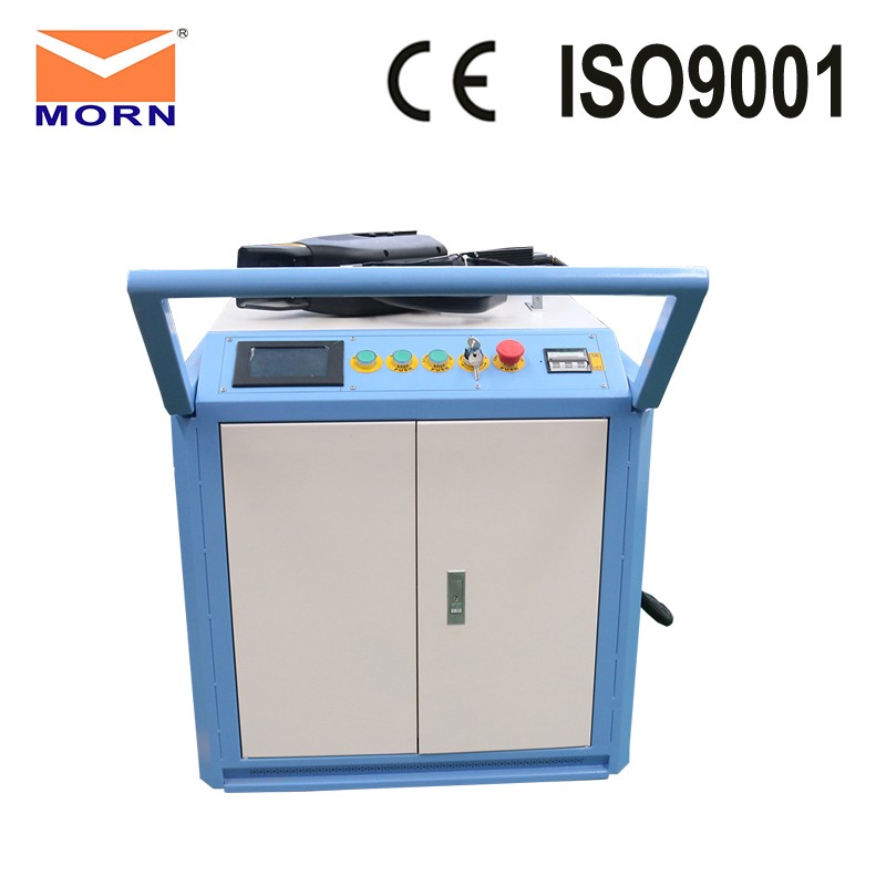 China Jinan Approved Laser Cleaning Machine 100w Laser Rust Removal Metal Cleaning Machine For Sale