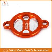 Заготовки Крышка масляного фильтра Кепки для KTM 250 350 450 505 SXF 450SMR 350 EXCF 200 450 530 EXC 350 свободный спуск SXS11450255 для мотокросса