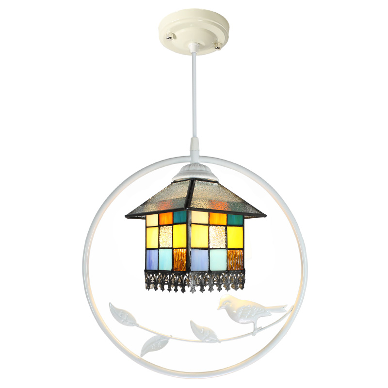 Modern Balcony Hanging Lights Individuality Bird Lantern Restaurant Pendant Lamps Bar Decorative Led Lamp Aisle Light Fixtures Pendant Lights     - title=