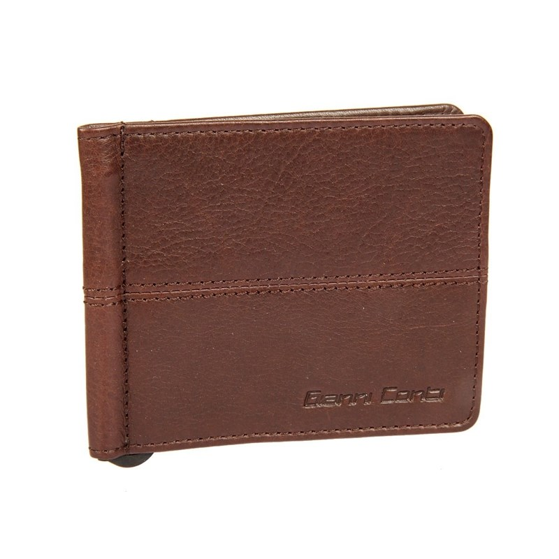 Money clip Gianni Conti 1137466E dark brown