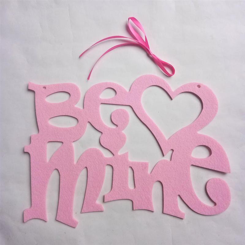 1 Pcs Werden Mine Kreative Valentines Tag Dekor Hängenden Tropfen Schöne Anhänger Vliesstoffe Anhänger Für Dame Frau Weibliche