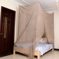 Single door Radiation shielding Square Mosquito Net Bed Canopy