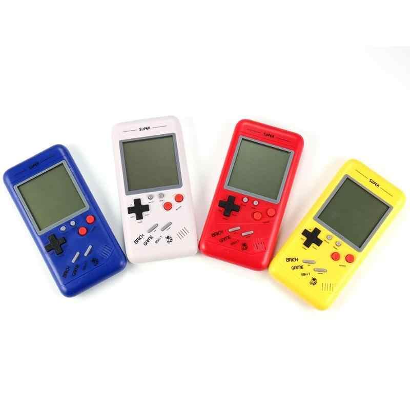 Coolbaby 3.5 インチ液晶レトロクラシック幼児テトリスゲームプレーヤー電子ゲームおもちゃゲームコンソール内蔵 26 ゲーム