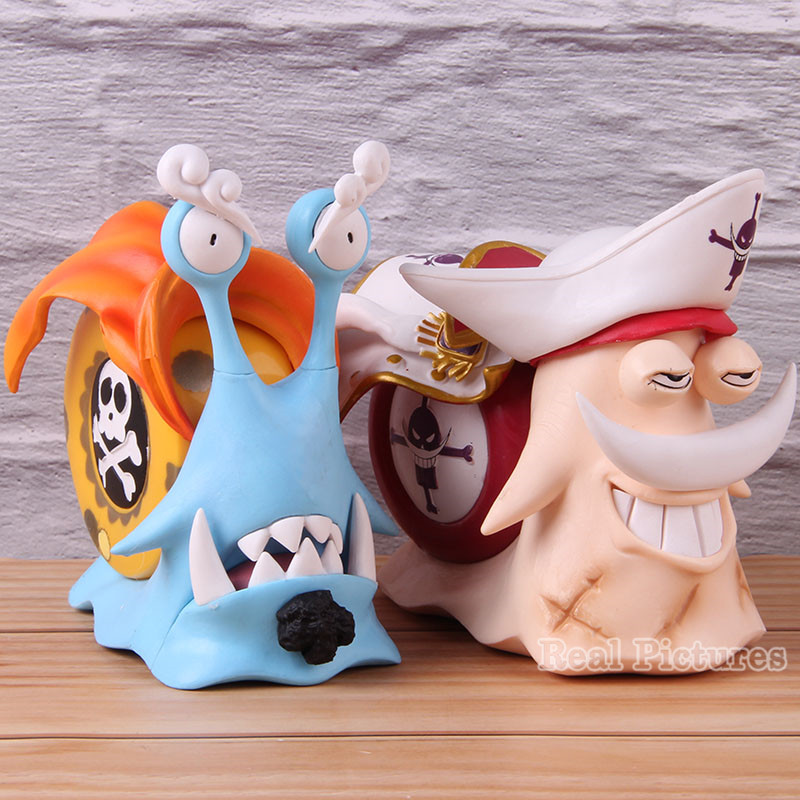 Anime One Piece Action Model Toy Den Den Mushi Edward Newgate Jinbe Figure One Piece PVC Collectible Statue Jinbe Edward