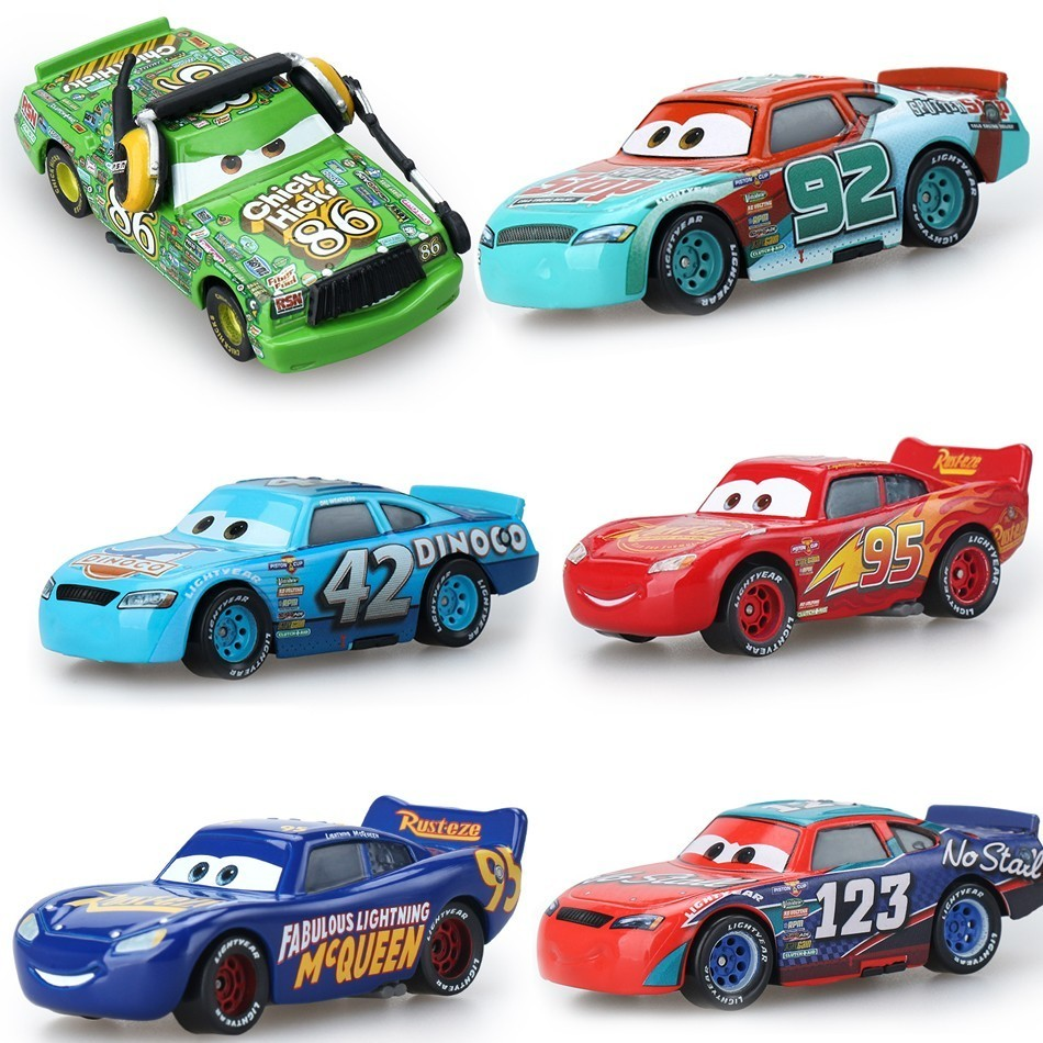 Disney Pixar Cars 3 Lightning Mcqueen Mater Jackson Storm Ramirez 1