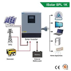 Image 2 - EASUN POWER onduleur solaire hybride 1kva à onde sinusoïdale Pure, contrôleur de Charge solaire, PWM intégré, à usage domestique