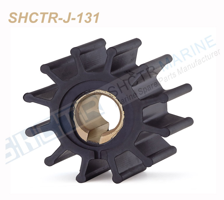 SHCTR Flexible Impeller For Jabsco 4568-0001,CEF 500108,Johnson 09-801B,Yanmar 145410-46090 124310-46090, 875575-3 831182