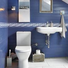 Красивые кружевные цветы обои границы водонепроницаемые наклейки для ванной комнаты с зеркальными дверцами Diy кухонный декор для плитки линия талии Ez062