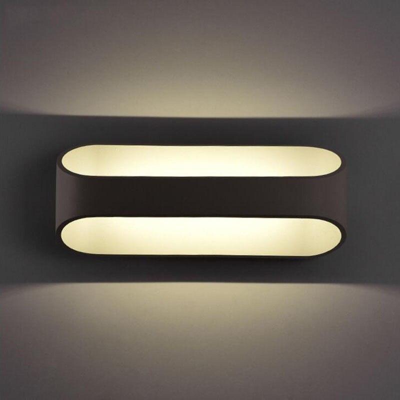 5pcs/lot 5W 10W 15W LED Lamps Balcony Modern Warm Light For Living Bedroom Wall Lighting Aluminum AC85 265v Deco Maison|wall light|led wall lamp|wall lamp modern - title=