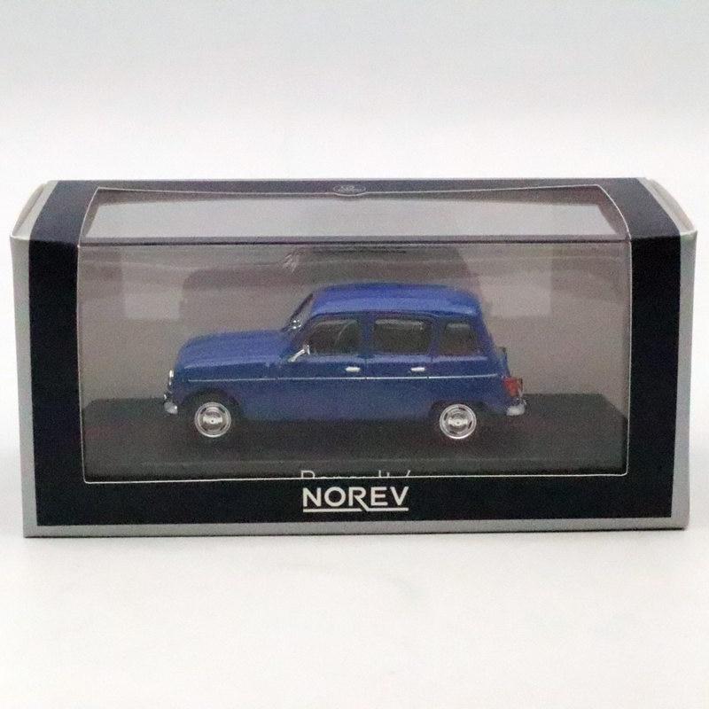 NOREV 1/43 Renault 4 R4 Blue Blau 1961-1992 DIECASET Model Toys Car Limited Edition Collection