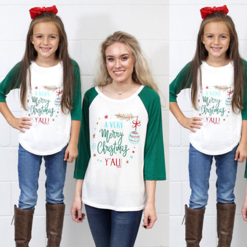 b565e6da6ea PUDCOCO Mommy and Me Casual Outfits Mother Daughter Matching T Shirts  Blessed to be her Mom New Tee