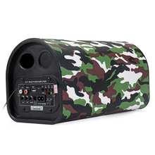 USB Adjustment 12V/24V 220V Car bluetooth Remote Control Subwoofer Hifi Bass Power Amplifier Speaker Compatible Smartphone Table