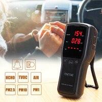 Цифровой детектор фольмадегита PM2.5 детектор многофункциональный газовый анализатор качества воздуха HCHO TVOC PM1.0 PM10 монитор для бытовых автом...