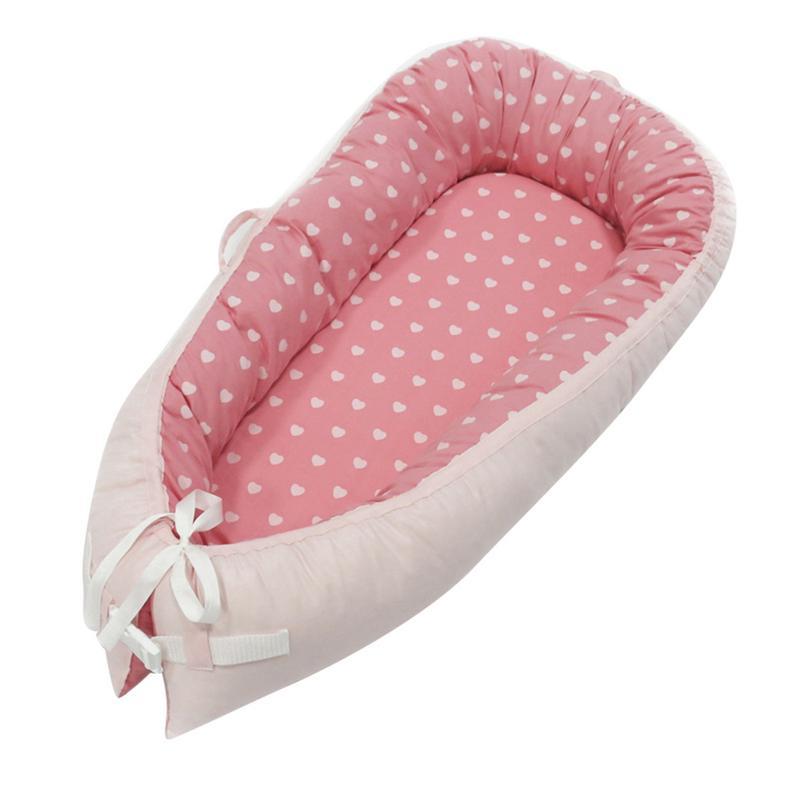 Bébé nid utérus lit bionique berceau Portable amovible et lavable lit de voyage pour enfants bébé enfants berceau en coton