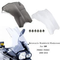 Motorcycle Wind Deflectors Windshield Windscreen Fairing Part for BMW F800GS F650GS 2008 2016
