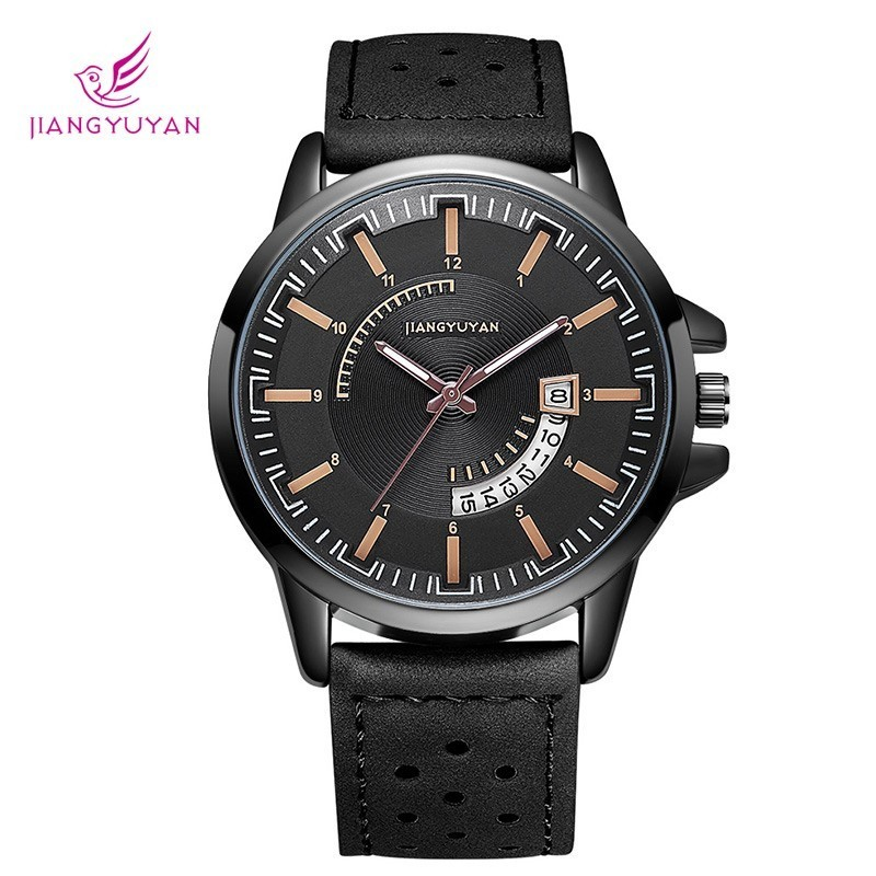JIANGYUYAN unique Business mens watches best luxury brand quartz Fashion Watch men wristwatches clock