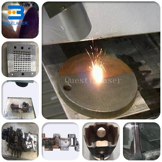 Eliminación de la corrosión por láser, además de la pintura al óleo, máquina de limpieza por láser