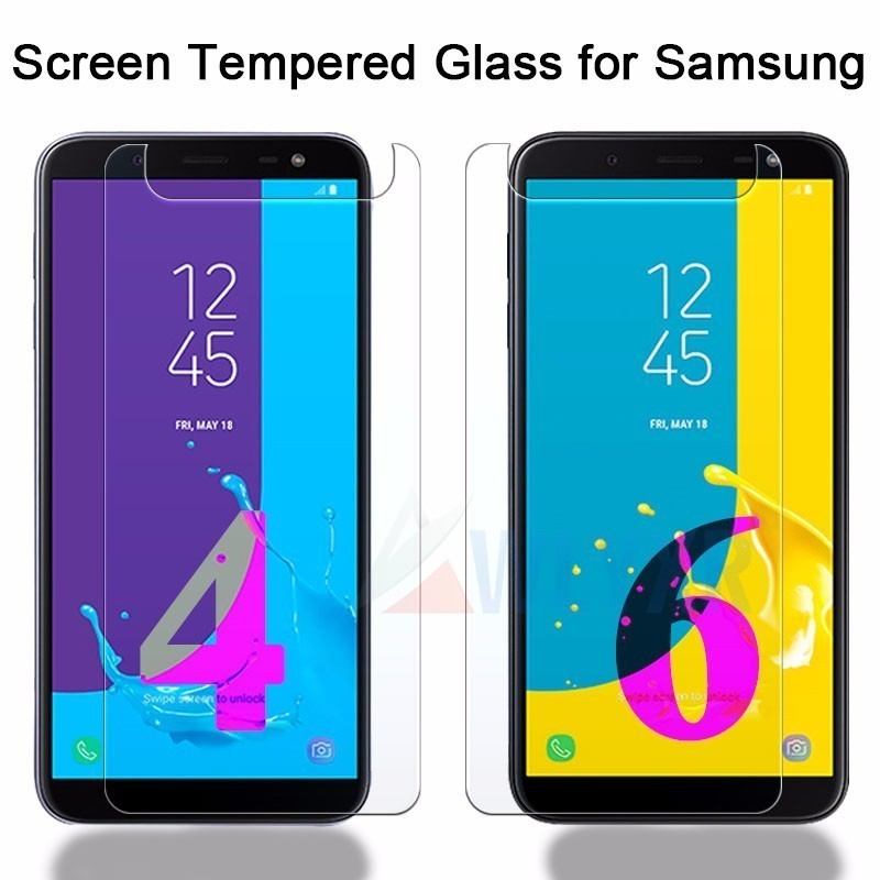 j4 Tempered Glass For Samsung Galaxy J4 2018 SM J400F Screen Protector Film Protective Glass j4 plus j4plus J 4 2018 J42018 Plus in Phone Screen Protectors from Cellphones Telecommunications