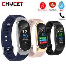 Smart Fitness Bracelet Watch Smart Bracelet Blood Pressure Measurement Fitness Tracker Heart Rate Monitor Watch Waterproof Women