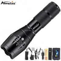 AloneFire E17 puissant 13 W Zoomable lampe de poche LED CREE XP-L V6 L2 T6 LED 9000LM LED étanche torche linterna pour 18650 batterie