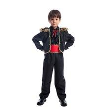 Новинка; маскарадный костюм для детей в испанском стиле матадора-бойца быка