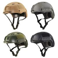High Quality Protective Paintball Wargame Helmet Army Airsoft Tactical FAST Helmet Protection Fashion Riding Multi functional
