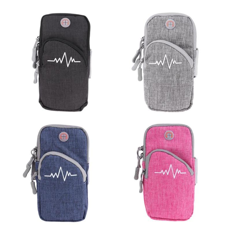 Armband Running Bags Waterproof Sports Phone Cases Cover Holder Running Sports Gym Storage Bags For 4-6 Inch Mobile Phone Strengthening Sinews And Bones