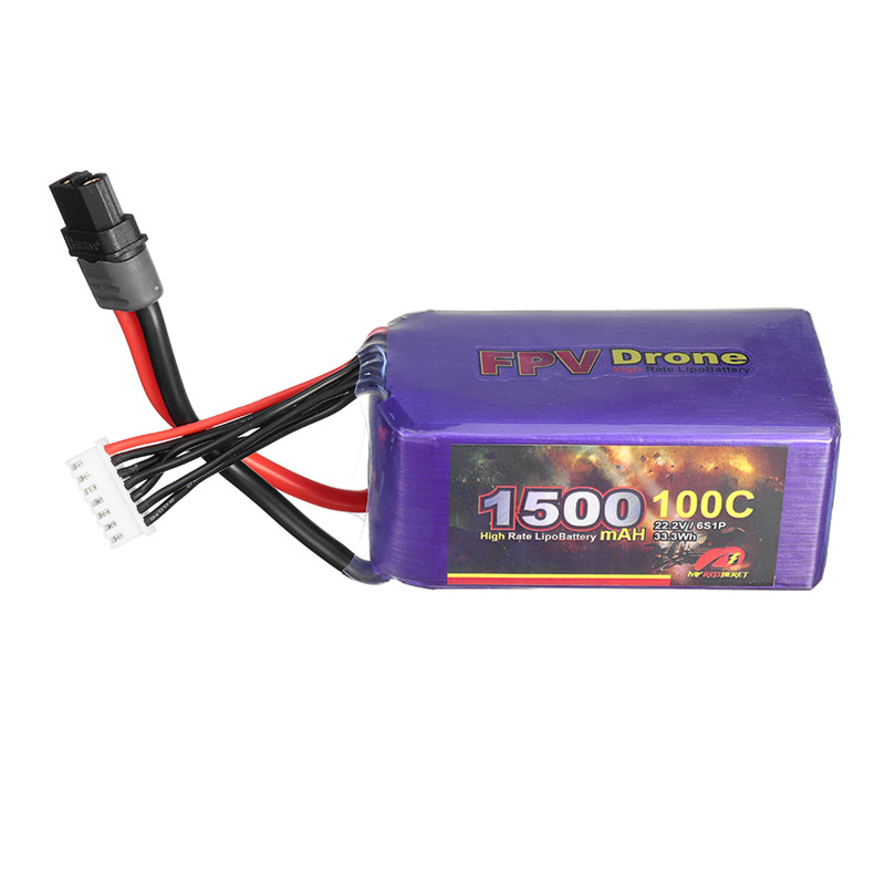 MY Red Beret 22.2V <font><b>1500mAh</b></font> 100C <font><b>6S</b></font> <font><b>Lipo</b></font> Battery XT60 Plug RC Battery for Align 450L 470L Helicopter FPV Drone RC Racing Models image