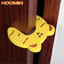 Safety Door Stopper Anti-grip Card Door Stopper Children Safety Protection Baby Child Lock Protection Kids Finger Protecting(China)