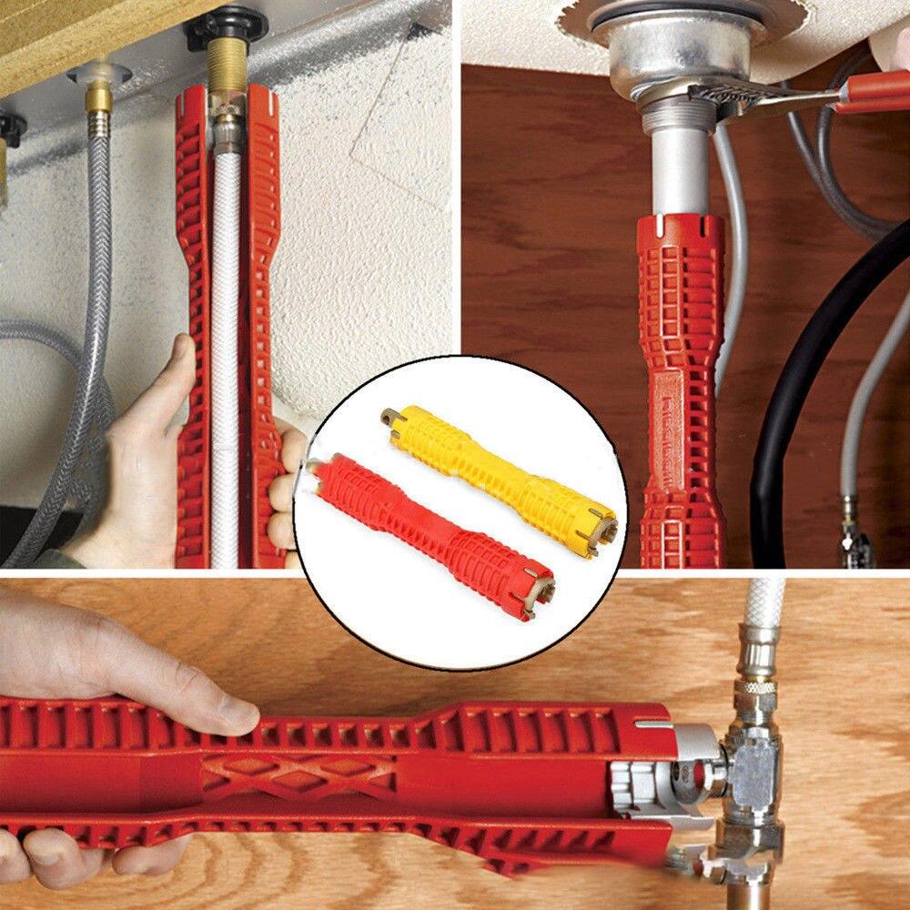 aus Wasserrohrschlüssel Montagewerkzeug für Wasserhahn Waschbecken