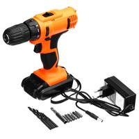 Cordless Impact Drill 18V Rechargeable Power Tool 10mm Chuck