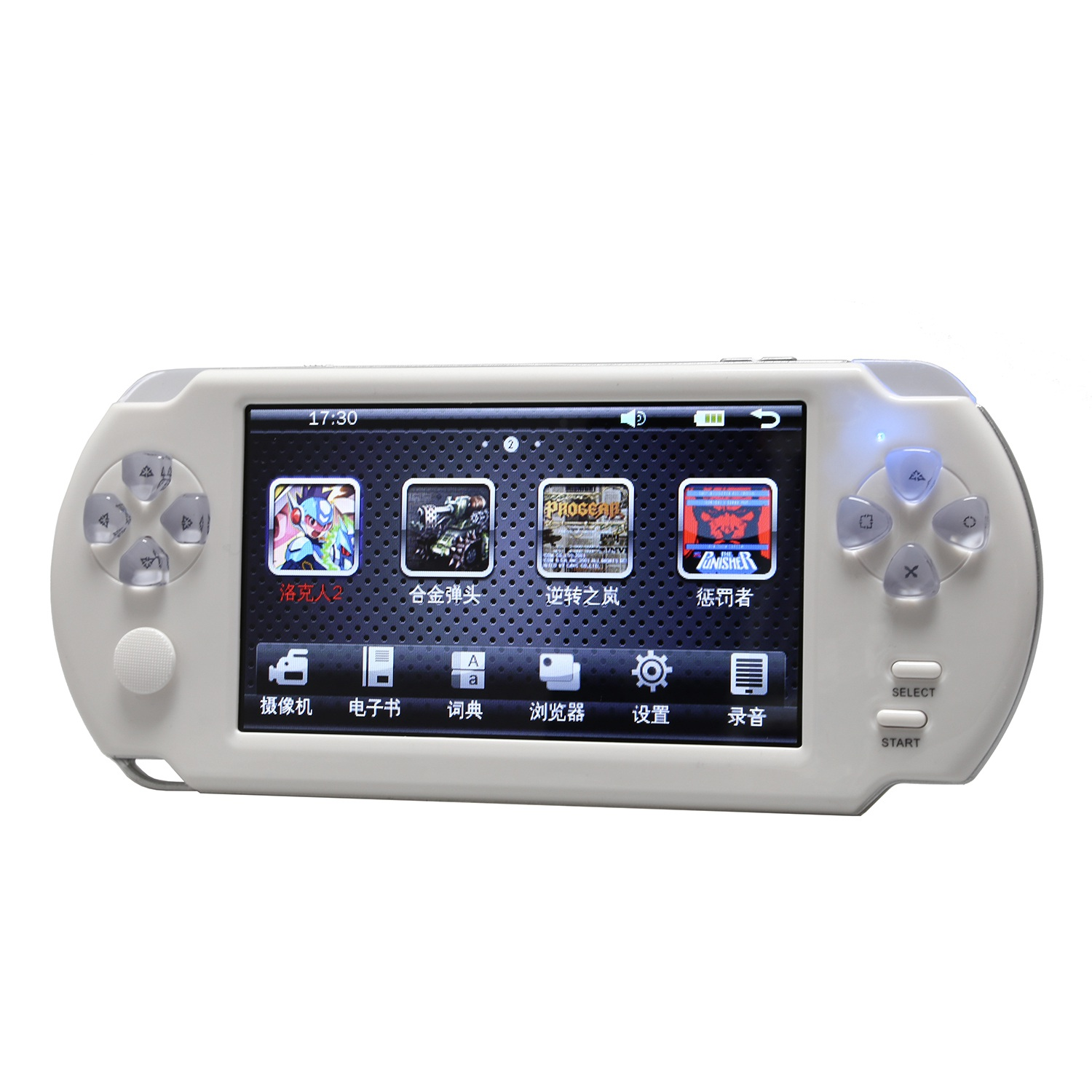 Powkiddy 5.1 Inch Retro Game Console Joystick Handheld Game Player Family TV Retro Video Consoles With Photo Recording MP3 Vid