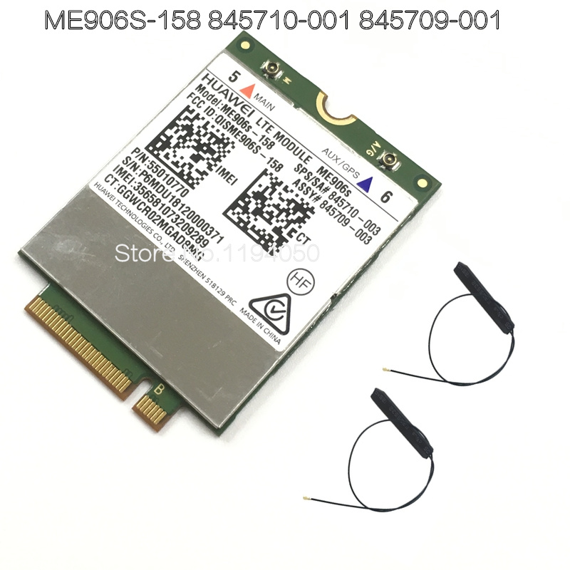 Mobile Broadband Card For HP LT4132 3G 4G LTE 150M HSPA + 4G Module Huawei ME906S ME906S-158 845710-001 845709-001 WDXUN