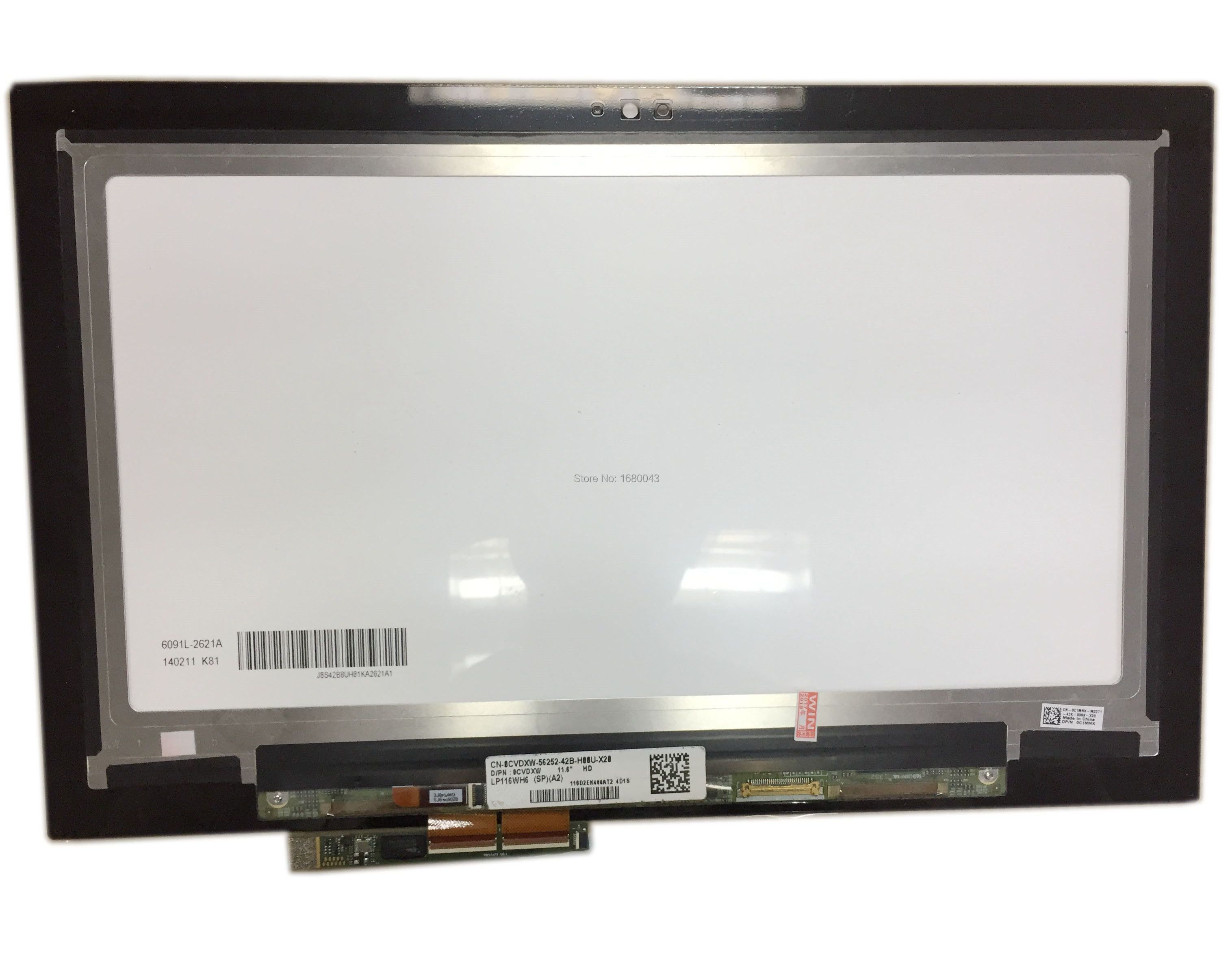 A2 SP LCD Screen Touch Panel Assembly LP116WH6 For DELL Inspiron 11 3000 3147