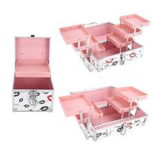 Makeup Tool Kits Professional Cosmetic Storage Box Portable