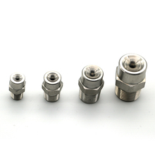 1-Nozzle Full-Cone 3/8-1/4-Spray Wide-Angle BSPT 304-Stainless-Steel 10pcs/Lot