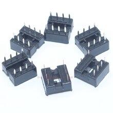 10PCS 8pin DIP IC Sockets Adaptor Solder Type 8 Pin 100% Original 2.54mm DIY