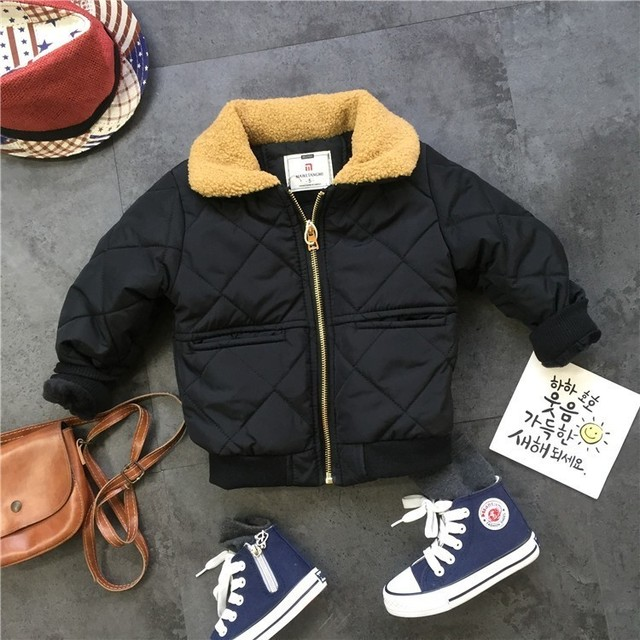 Winter Suits For Boys Warm Thicken Jacket  Coat Letter Printing Sweatshirt Pants Toddler Boys Clothing Set 3 4 5 6 7 Y Kids 3pcs 1