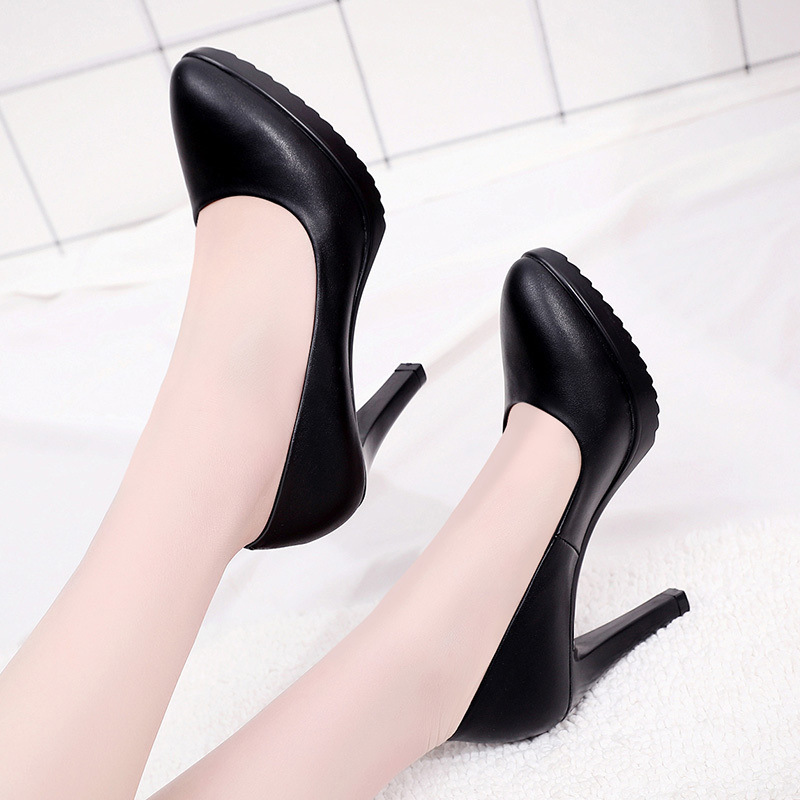 Plus Size 32-43 Stilettos Pumps Women Wedding Shoes Red White 2019 Spring Shallow High Heels Shoes Ladies Platform Shoe